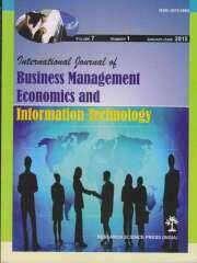 International Journal of Business Management Economics and Information Technology Journal Subscription
