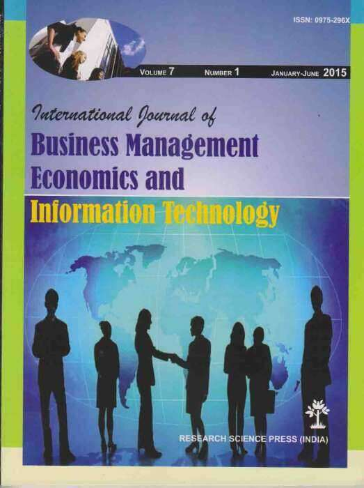 International Journal of Business Management Economics and Information Technology Journal Subscription