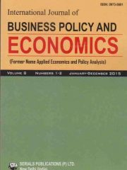 International Journal of Business Policy and Economics Journal Subscription