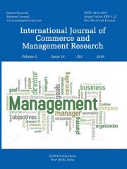 International Journal of Commerce and Management Research Journal Subscription