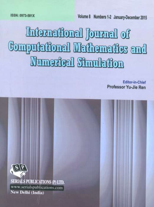 International Journal of Computational Mathematics and Numerical Simulation Journal Subscription