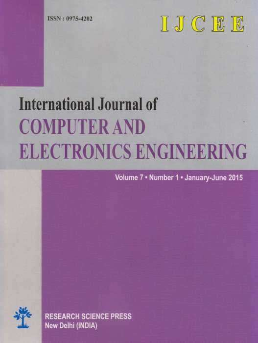 International Journal of Computer and Electronics Engineering Journal Subscription