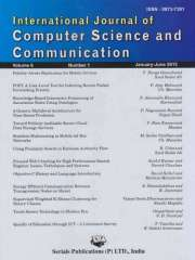 International Journal of Computer Science and Communication Journal Subscription