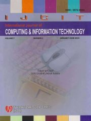 International Journal of Computing and Information Technology Journal Subscription
