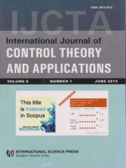 International Journal of Control Theory and Applications Journal Subscription