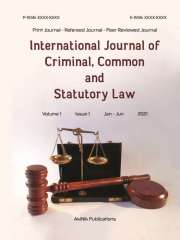 International Journal of Criminal, Common and Statutory Law Journal Subscription