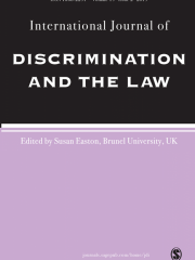 International Journal of Discrimination And The Law Journal Subscription