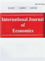 International Journal of Economics Journal Subscription