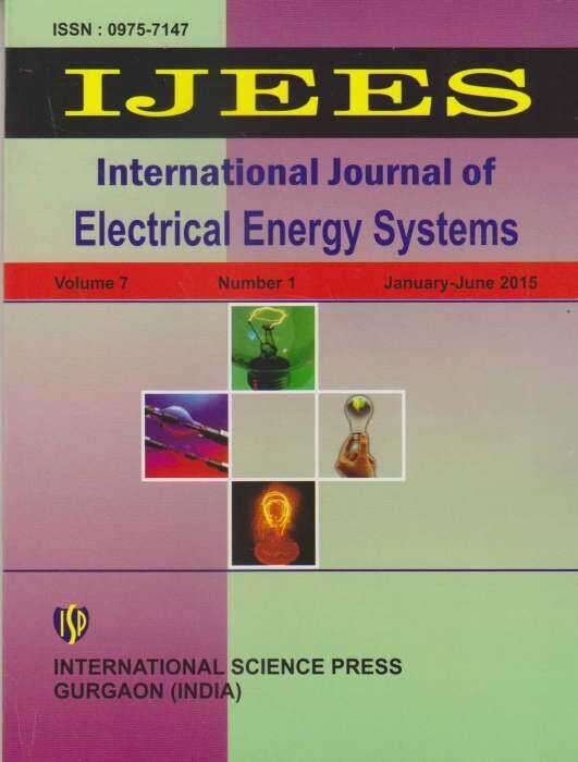 International Journal of Electrical Energy Systems Journal Subscription