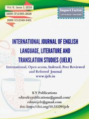 INTERNATIONAL JOURNAL OF ENGLISH LANGUAGE, LITERATURE AND TRANSLATION STUDIES (IJELR) Journal Subscription
