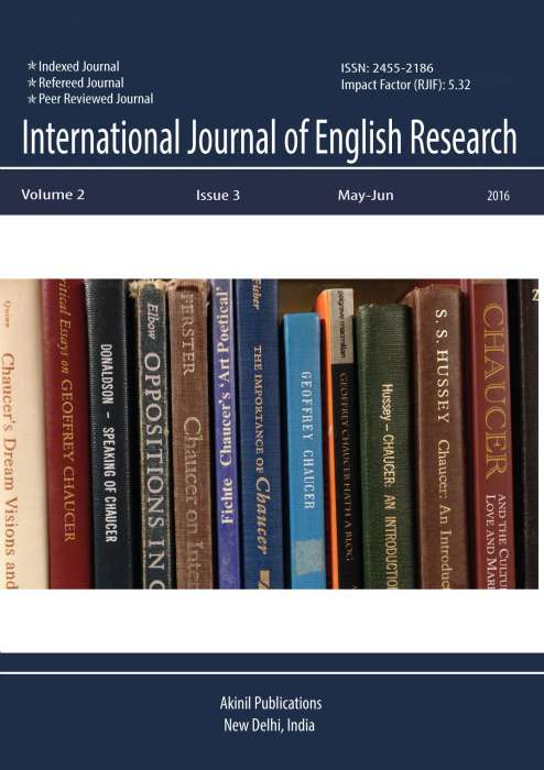 International Journal of English Research Journal Subscription