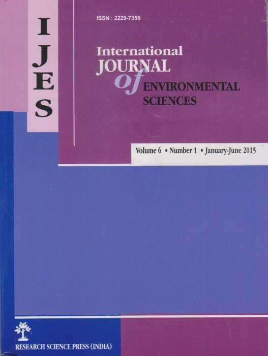 International Journal of Environmental Sciences Journal Subscription
