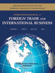 International Journal of Foreign Trade and International Business Journal Subscription