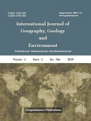 International Journal of Geography, Geology and Environment Journal Subscription