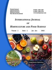 International Journal of Horticulture and Food Science Journal Subscription