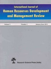 International Journal of Human Resources Development and Management Review Journal Subscription