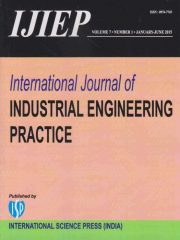 International Journal of Industrial Engineering Practice Journal Subscription