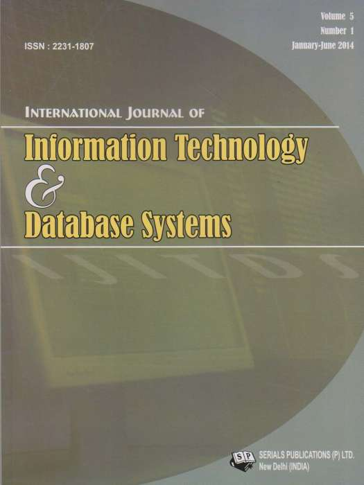 International Journal of Information Technology and Database Systems Journal Subscription