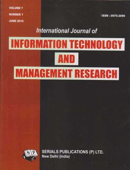 journal of information technology The journal of information technology (jit) is a top-ranked journal in its field, focused on new research addressing technology and the management of it - including strategy, change, infrastructure, human resources, sourcing, system development and implementation, communications, technology.
