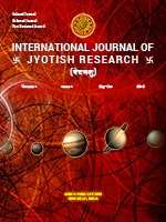 International Journal of Jyotish Research Journal Subscription