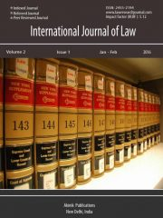 International Journal of Law Journal Subscription
