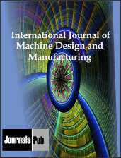 International Journal of Machine Design and Manufacturing Journal Subscription
