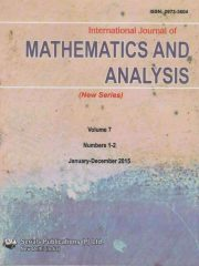 International Journal of Mathematics and Analysis Journal Subscription