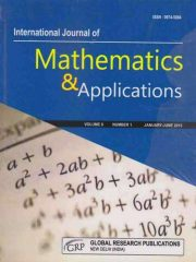 International Journal of Mathematics and Applications Journal Subscription