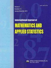 International Journal of Mathematics and Applied Statistics Journal Subscription