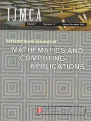 International Journal of Mathematics and Computing Applications Journal Subscription