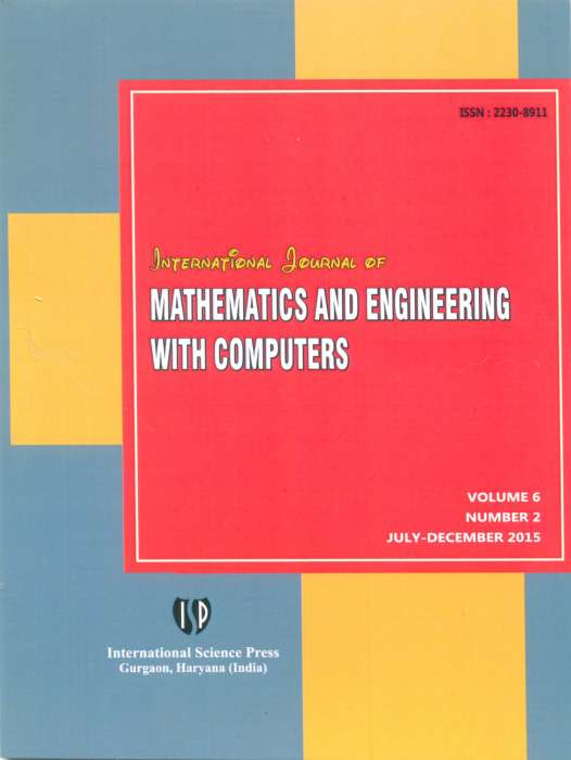 International Journal of Mathematics and Engineering with Computers Journal Subscription