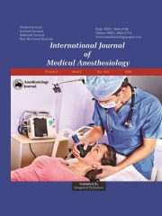 International Journal of Medical Anesthesiology Journal Subscription