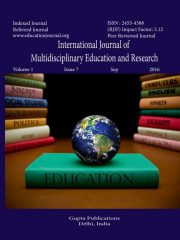 International Journal of Multidisciplinary Education and Research Journal Subscription