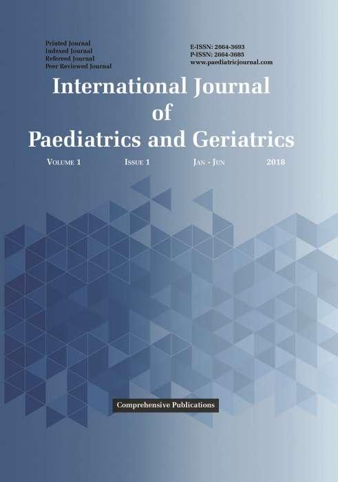 International Journal of Paediatrics and Geriatrics Journal Subscription