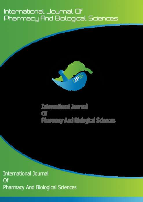 International journal of Pharmacy and biological sciences (IJPBS) Journal Subscription