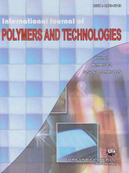 International Journal of Polymers and Technologies Journal Subscription
