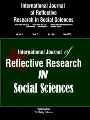 International Journal of Reflective Research in Social Sciences Journal Subscription