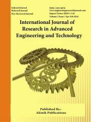 International Journal of Research in Advanced Engineering and Technology Journal Subscription