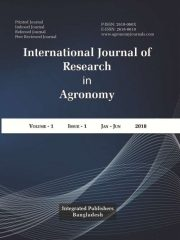 International Journal of Research in Agronomy Journal Subscription