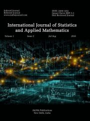 International Journal of Statistics and Applied Mathematics Journal Subscription