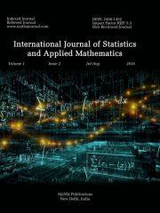 International Journal of Statistics and Applied Mathematics Journal Subscription