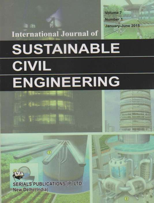 International Journal of Sustainable Civil Engineering Journal Subscription