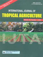 International Journal of Tropical Agriculture Journal Subscription