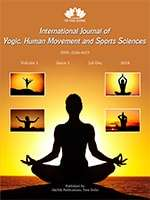 International Journal of Yogic, Human Movement and Sports Sciences Journal Subscription