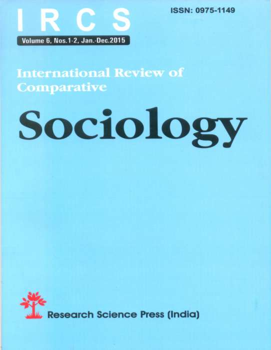 International Review of Comparative Sociology Journal Subscription