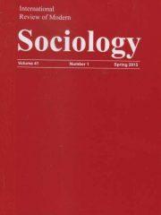 International Review of Modern Sociology Journal Subscription