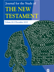 Journal for the Study of the New Testament Journal Subscription