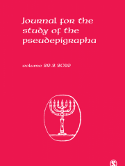 Journal for the Study of the Pseudepigrapha Journal Subscription