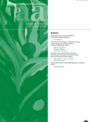 Journal of Advanced Academics Journal Subscription