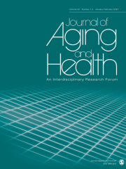 Journal of Aging and Health Journal Subscription